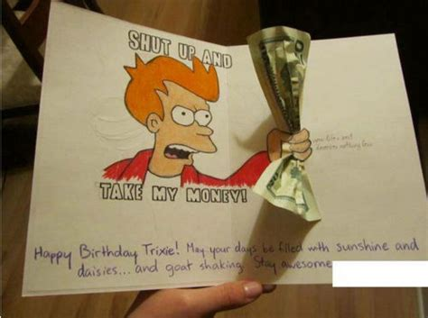 Gifts For Meme - futurama meme gift card
