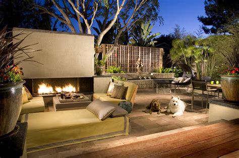 Mid Century Zen Contemporary Patio San Diego By Patio Interior Design