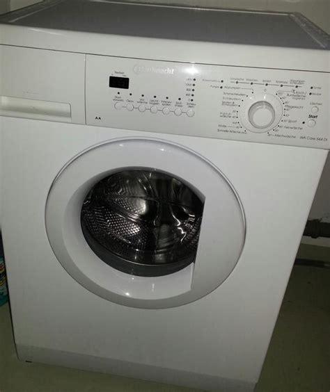 waschmaschine bauknecht bauknecht waschmaschine defekt wa care 544 di in