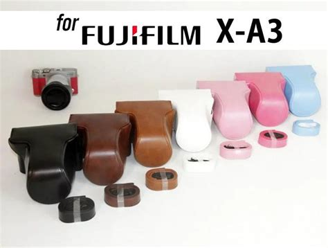 Leather Fuji X A3 leather holster for fujifilm x a10 x a5 x a3 x a2 x