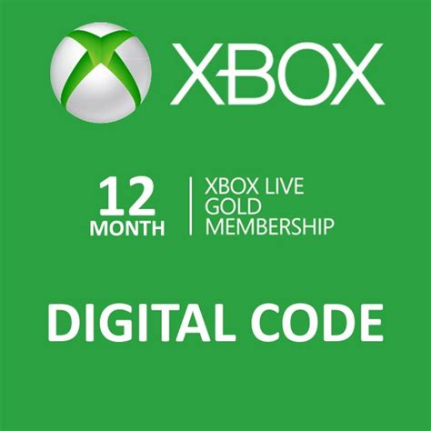 Voucher Xbox Live Xbl 10 Card no more lines store 12 month xbox live gold membership code