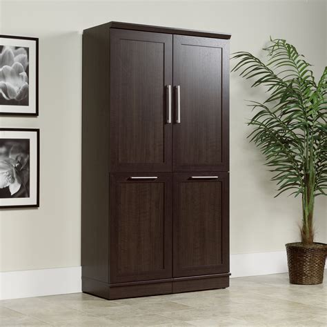sauder cabinets with doors homeplus storage cabinet 411309 sauder