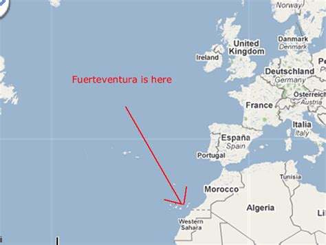 where is tenerife on world map semana santa fuerteventura la vida espa 241 ola