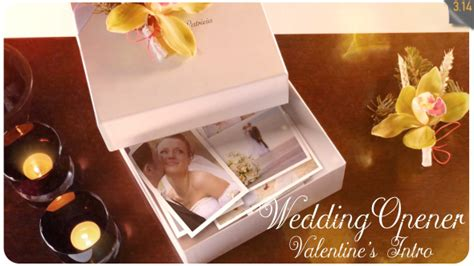 Wedding Opener Valentines Intro After Effects Template Videohive 19338775 After Effects Wedding Intro After Effects Templates