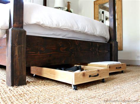 under bed storage diy cedar underbed storage pretty handy girl