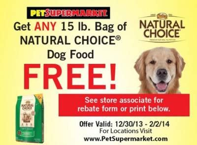 dog food coupons uk coupon free bag of natural choice dog food free stuff