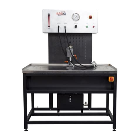 testing bench msg ms502m power steering rack test bench for sale