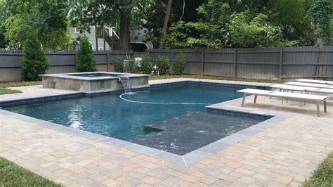 geometric pool designs geometric pools custom pool builders concord nc aloha