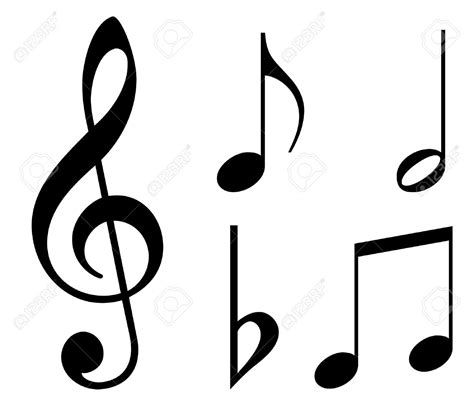 google imagenes con notas musicales notas musicales siluetas buscar con google pintura