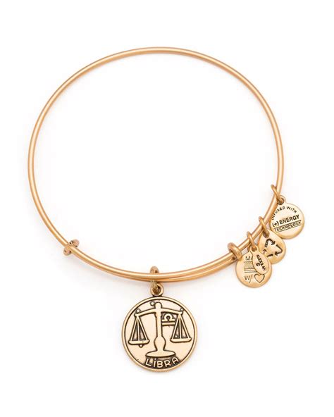 alex and ani bracelet alex and ani sagittarius bangle in gold russian gold lyst