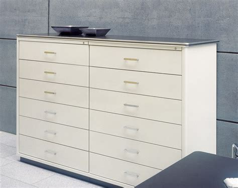 Sheet Metal Drawers by Muller Classic Line Drawers