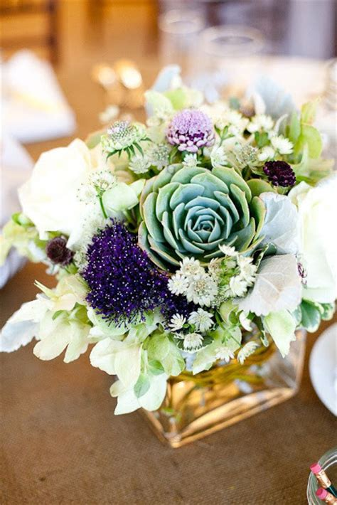 centerpieces with succulents beautiful bridal 17 stunning succulent wedding centerpieces