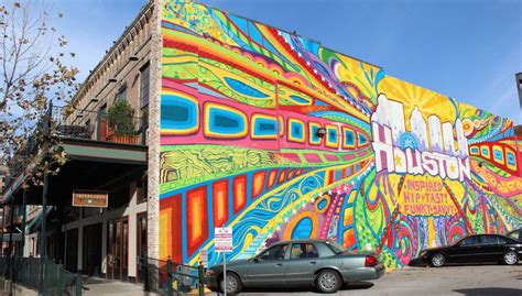 Cool Wall Mural houston downtown mural by gonzo247 365 things to do in