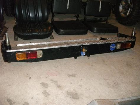 sale fj kaymar rear spare bumper  tire carrier