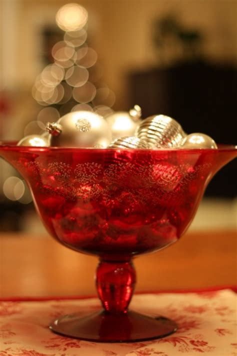 kitchen table centerpiece bowls decorating my house for the holidays hooked on houses