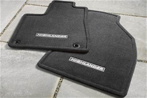 2005 Toyota Highlander Floor Mats by Genuine Highlander Floor Mats Olathe Toyota Parts Center