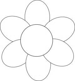 Free Printable Flower Templates Printable Flower Petal Template Clipart Best