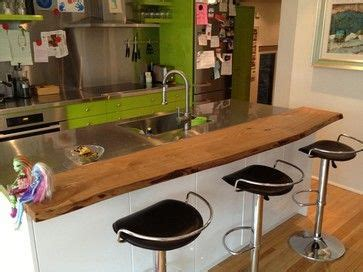 breakfast bar top ideas 17 best ideas about live edge bar on pinterest live edge wood wooden shelves and