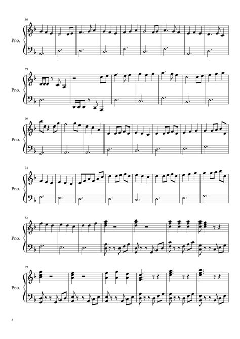 tutorial piano pirates of the caribbean sheet music made by niall devlin for 2 parts piano