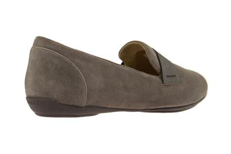 slipper factory geox charlene j schuhe in grau damen slipper shop