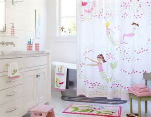 Pottery Barn Kids Bathroom Ideas The Mermaid Shower Curtain Is So Adorable This Is For A