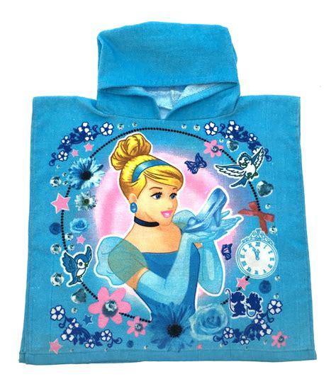Disney Princess Bath Towel Pink disney princess hooded towel bath swimming poncho