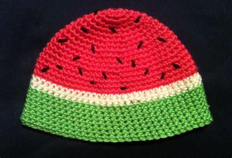 Win Win Crochet Cat Shape Hat watermelon hats tag hats
