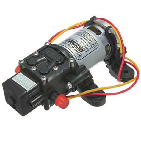 Pompa Air Mobil High Pressure 12v 4l Min 12v dc 4l min 100psi high pressure diaphragm water us 17 77 sold out