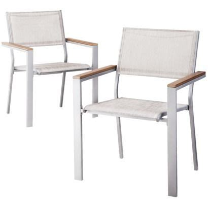Threshold Furniture Target by Threshold Bryant 2 Sling Patio Dining Chair