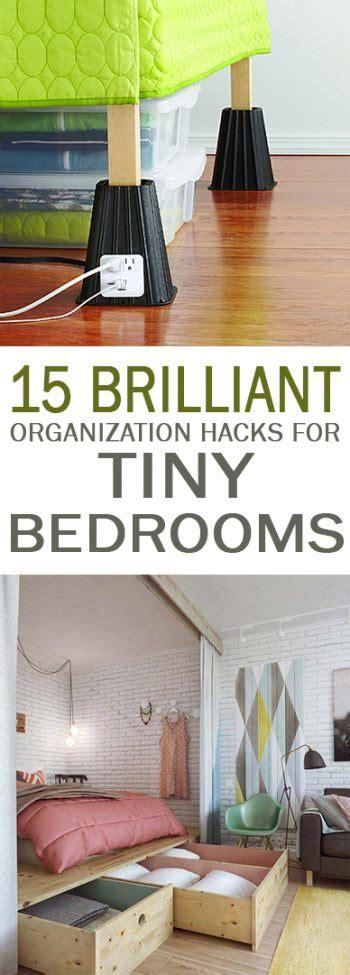 Organize Small Bedroom 15 brilliant organization hacks for tiny bedrooms 101