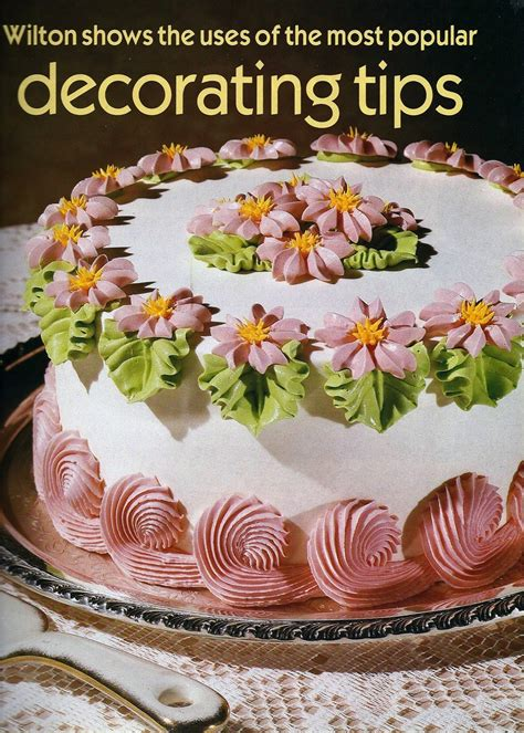 Free Wilton Cake Decorating Books by Vintage Wilton Cake Decorating Tips Book Wedding Cake