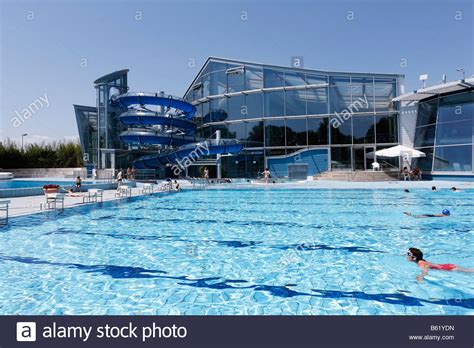 schwimmbad in neustadt outdoor swimming pool in the triamare swimming complex in