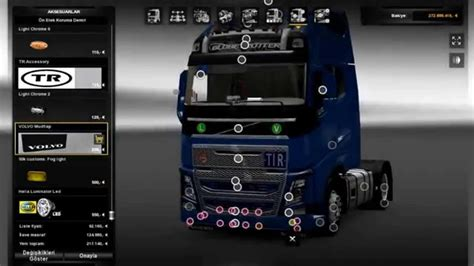 Volvo Interior Accessories new volvo fh16 accessories interior ets2 mods