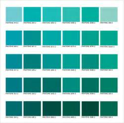 teal color chart pantone color chart sle 8 documents in word pdf