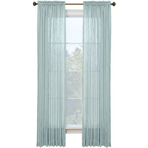 lowes window curtains shop style selections kenna 84 in l solid mineral rod