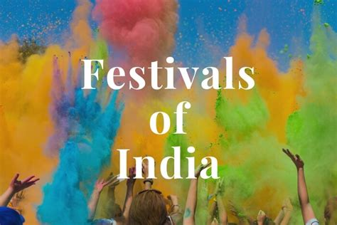 famous festivals  india    locations