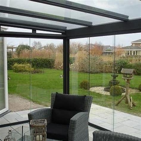 glaswand veranda weinor glaswand w17 c zonlicht nl