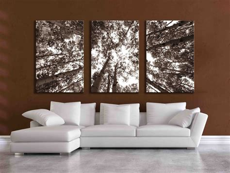 big wall art three large multi panel wall art aspen 20x24 inch or 24x36