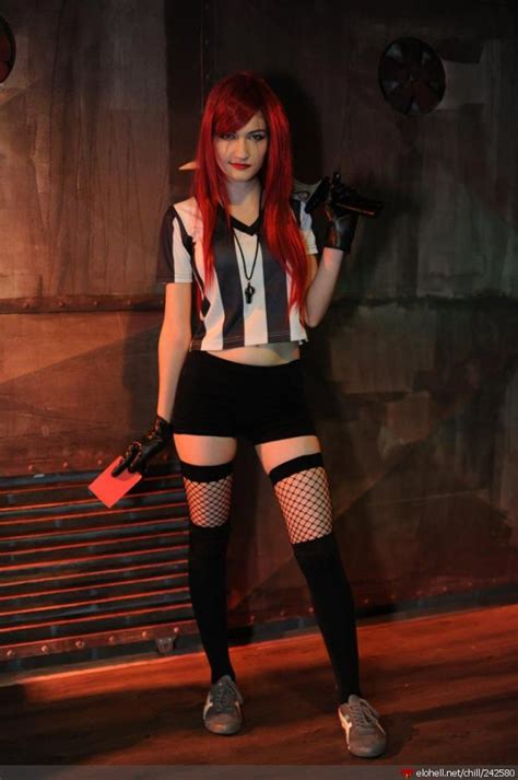 chillout red card katarina cosplay
