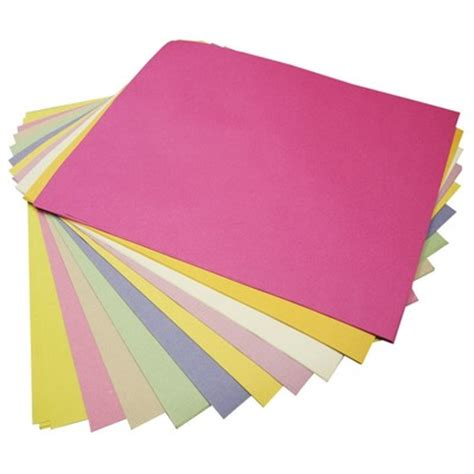 How To Make Sugar Paper - sugar paper a4 assorted pastel coloured pages pack of