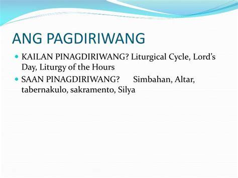 Kailan Ang S Day Ppt Ika 2 Yugto Pagiging Simbahan Powerpoint