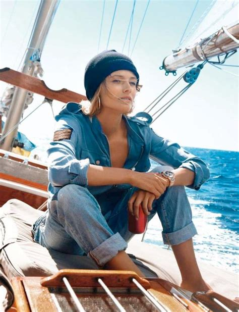 Navy Style navy style with edita vilkeviciute for vogue 2013