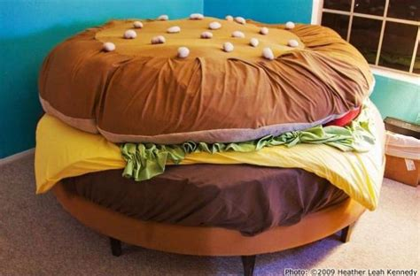 Futon Food by Foodista The Hamburger Bed Will Give You A Comforting