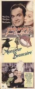 film comedy history monsieur beaucaire 1946 original movie poster adventure