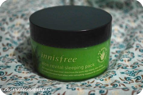 Harga Innisfree Aloe Revital Sleeping Pack cosm 233 tica d anjou innisfree aloe revital sleeping pack