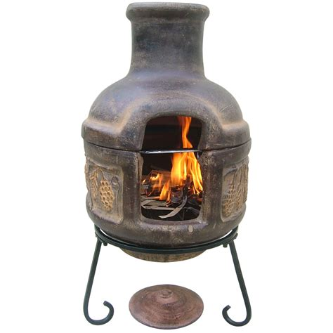 Chiminea With Grill redirecting to http www worldstores co uk c barbecues htm