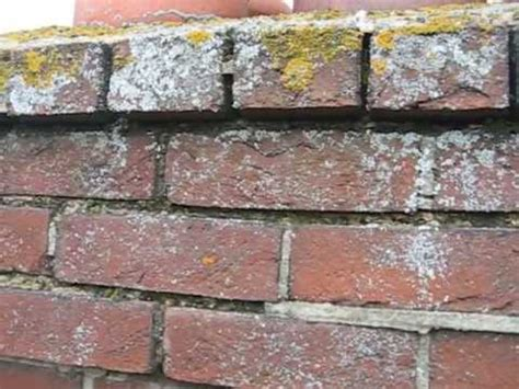 repointing a chimney stack before and after