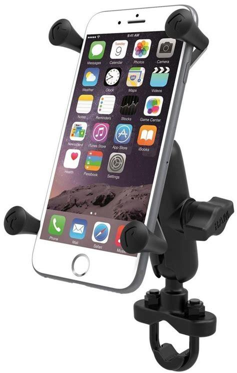 ram mount cell phone holder ram mount motorcycle handlebar rail mount x grip cell
