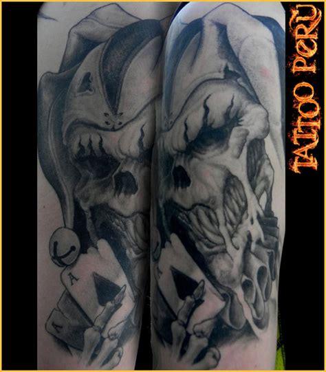 imagenes de calaveras joker fotos de tatuajes los mejores tatuadores estan en