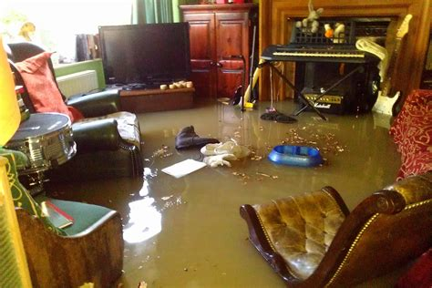 house flood inside the flood house greenford couple s home is wrecked when water pipe bursts